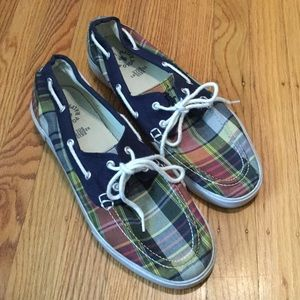 Polo Ralph Lauren Canvas Boat Shoes 11 Men's